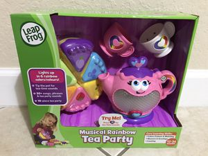 New Leap Frog Musical Rainbow Tea Party for Sale in Miami, FL