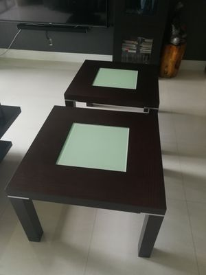 Side end tables (removable legs) for Sale in Hialeah, FL