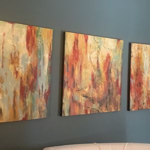 3 Piece Contemporary Art for Sale in Fort McDowell, AZ