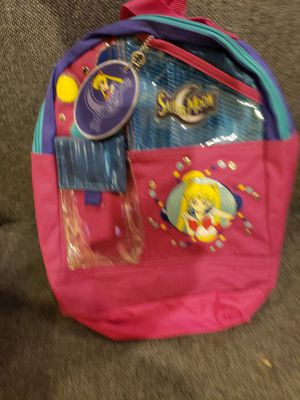 Childs Pink Sailor Moon backpack for Sale in Joliet, IL