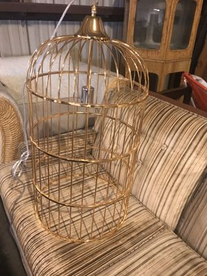 Large Bird cage chandelier for Sale in Austin, TX
