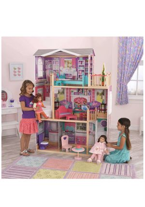 "18"" Dollhouse Doll Manor, Multicolor. For American Girl Dolls and other Big / Tall Dolls for Sale in Alexandria, VA"