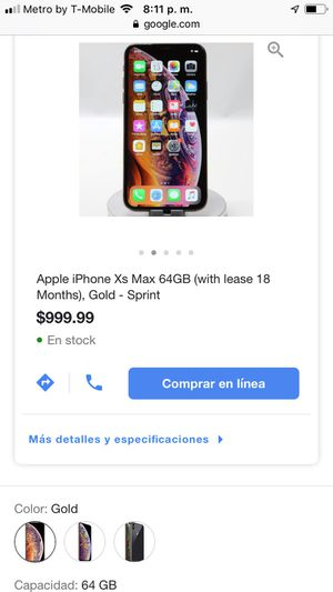 Phone Xs max for Sale in Oakland, CA