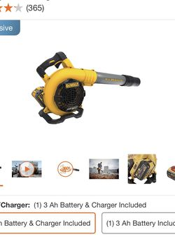 DEWALT 129 MPH 423 CFM 60V MAX FLEXVOLT Handheld Leaf Blower for Sale in Santa Ana,  CA