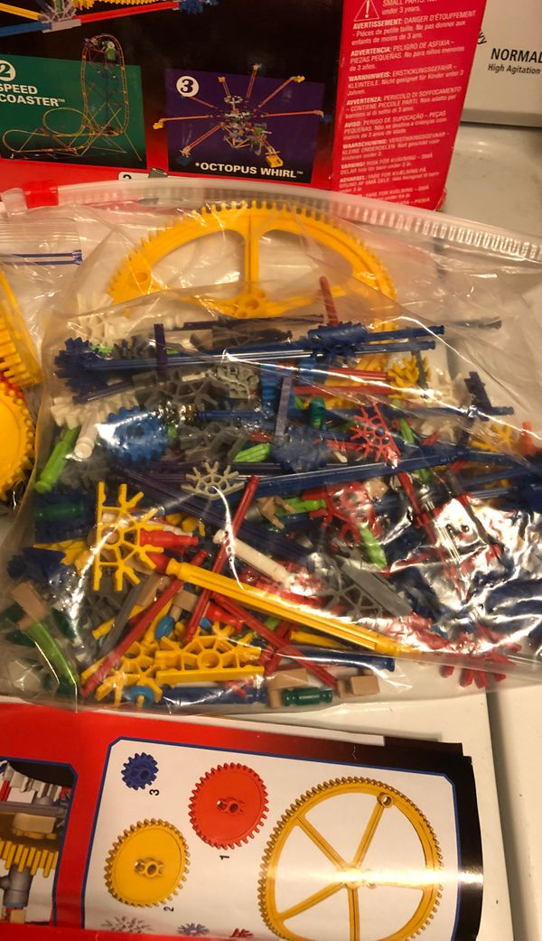 K'NEX Set #4 Collect Build Drop-N-Swing motorized collectable knex Open box