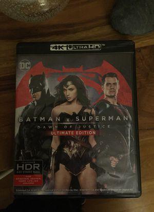 Batman vs Superman 4K for Sale in Sudbury, MA
