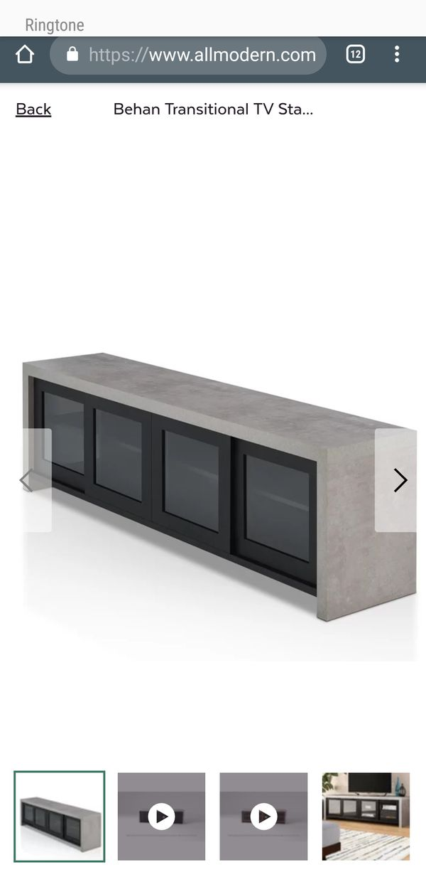"Behan TV stand for up to 60"" BRAND NEW"
