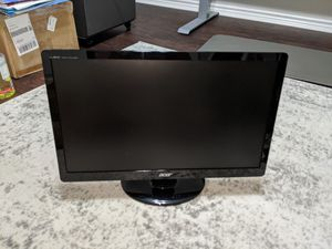 """Two (2) ACER 20"""" LED Computer Monitors for Sale in Red Oak, TX"""
