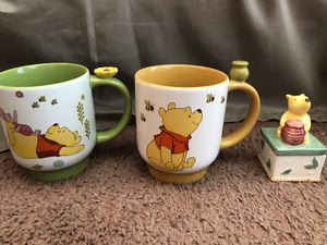 Winnie the Pooh decor & ceramic mugs for Sale in El Cajon, CA
