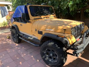 1987 Jeep Wrangler 4x4 for Sale in Gardena, CA