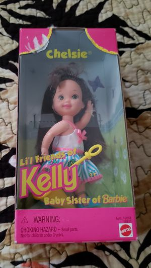 Mattel 1997 - Chelsie - Lil Friends of Kelly - Baby sister of Barbie - Never Opened for Sale in Spring Valley, CA