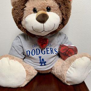 LA Dodgers Valentine's Day Giant Plush Stuffed Lion for Sale in Irvine, CA