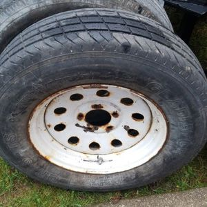 Trailer Rins And Tire Set for Sale in Olympia, WA