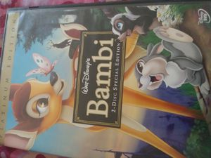 Bambi deluxe movie for Sale in Palmdale, CA
