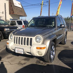 2004 Jeep Liberty Limited 182k Miles for Sale in Modesto, CA