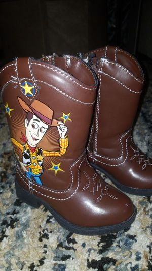 New Toy Story Woody's Cowboy Boots kids size 5 for Sale in Fort Worth, TX