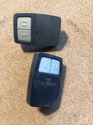 2 garage door clickers for Sale in Mesa, AZ
