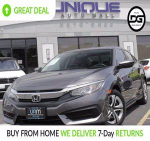 2016 Honda Civic Sedan for Sale in South Ambou, NJ