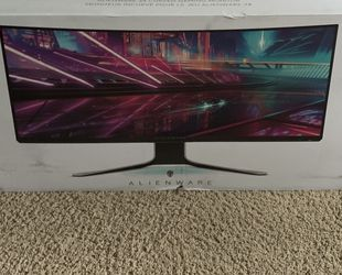 Dell AW3420 Monitor 34inch 140hz for Sale in Gig Harbor,  WA
