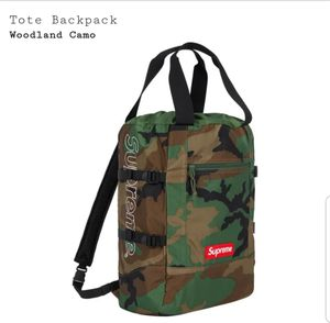 Supreme Tote Backpack woodland Camo for Sale in Brentwood, TN