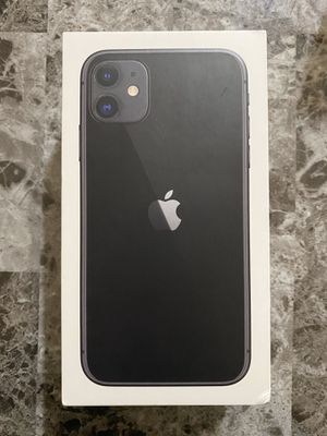 iPhone 11 Black 64gb Factory Unlocked for Sale in New Britain, CT