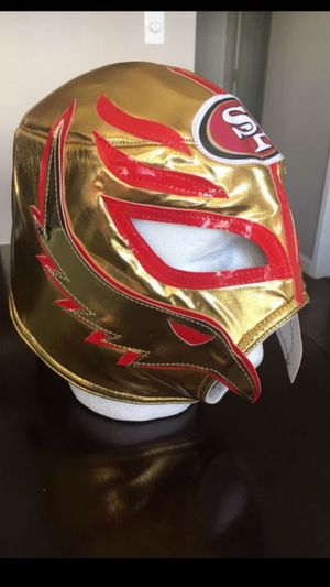 San Francisco 49ers Mask for Sale in San Leandro, CA