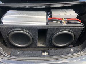2 re audio 12s for Sale in Saint Petersburg, FL