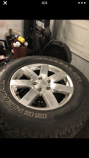Jeep rims and tires for Sale in Garland, TX
