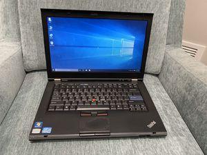 Lenovo ThinkPad T420 Laptop 2.5ghz Core i5 4gb RAM 250gb HD Windows 10 Pro for Sale in Round Lake, IL
