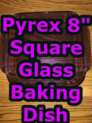 "Pyrex 8"" Square Glass Baking Dish for Sale in Glen Ellyn, IL"