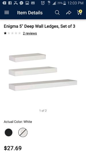 Wall shelves for Sale in Concord, NC
