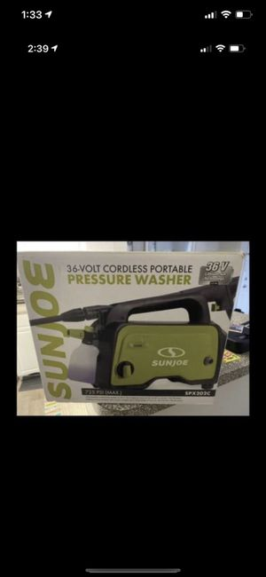 Sunrise pressure washer- new portable for Sale in Silver Spring, MD