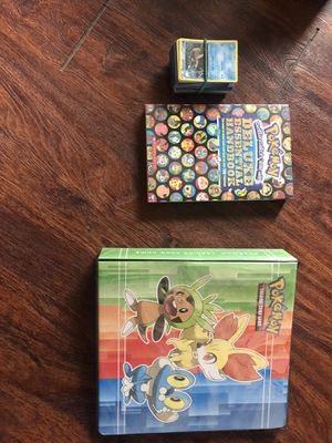 Pokémon cards, book and collectible book full of more cards! for Sale in Lakeside, AZ
