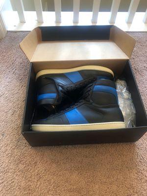 Saint Laurent Paris Hightop Blue And Black for Sale in Atlanta, GA