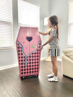 Wooden Monster High Coffin Playhouse for Sale in Quantico, VA