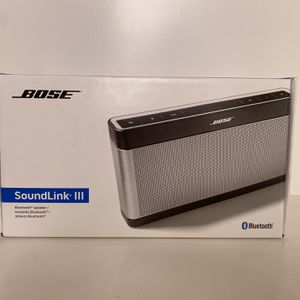 New Unopened Bose Soundlink III for Sale in San Jose, CA