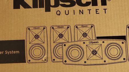 Brand New Klipsch quintet Klipsch Subwoofer $360.00 Surround Home Theatre System for Sale in Glendale Heights,  IL