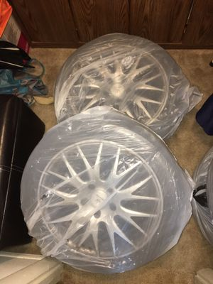 "Selling 17"" rims w/tires! Specs below! Negotiable! for Sale in Rockville, MD"