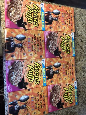 Travis Scott Limited Edition Reese's Puffs for Sale in Grandview, WA