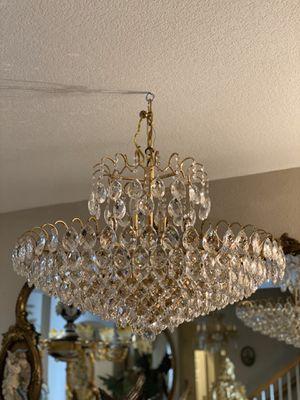 Huge crystal chandelier for Sale in Stevenson Ranch, CA