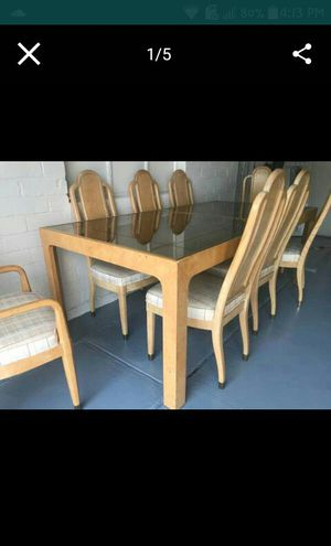 Henredon Dining room set 8 Chairs +Extension for Sale in Phoenix, AZ