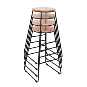 Set of 4 Modern Barstool in Black Dining Furniture for Sale in Henderson, NV