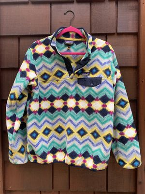 Women's Synchilla Patagonia Pull-Over for Sale in North Bend, WA