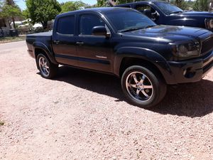 """20"""" boss motorsport 6 lug toyota rims an tires for Sale in Payson, AZ"""