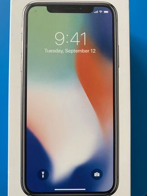 iPhone X 64 GB Unlocked - gently used and well kept for Sale in Rancho Santa Margarita, CA