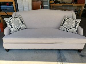 Bassett White Couch for Sale in Durham, NC