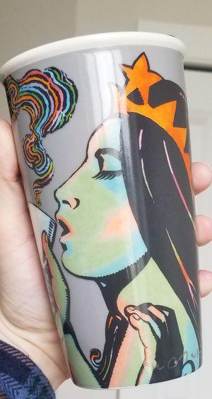 Starbucks 2016 Milton Glaser Siren 25th Anniversary Travel Mug OBO for Sale in Marysville, WA
