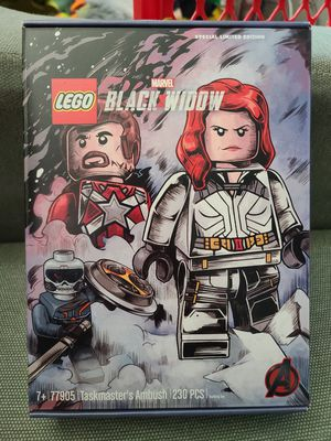 Lego 77905 Marvel Black Widow Taskmaster's Ambush Limited Edition Set for Sale in San Diego, CA
