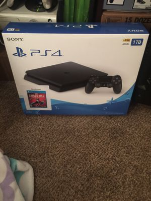 Ps4 slim 1TB asking 150 for Sale in Evansville, IN