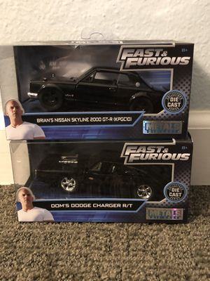 Metal die cast fast and furious cars for Sale in Phoenix, AZ